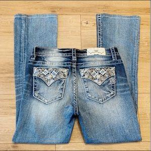 Miss Me   Boot Cut Embellished Pockets